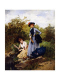 A Summer's Afternoon Giclee Print by Francesco Miralles Galaup