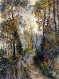 The Forest Path, 1871 Giclee Print by Pierre-Auguste Renoir