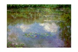 Water Lilies, the Cloud, 1903 Giclee Print by Claude Monet