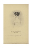 Portrait of Queen Victoria Giclee Print by Richard James Lane
