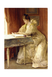 Portrait of a Lady Giclee Print by Julius Leblanc Stewart