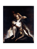 The Vision of the Deluge Giclee Print by Henry Fuseli