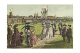 A Banner Ceremony, 1786 Giclee Print by Willem II Steelink