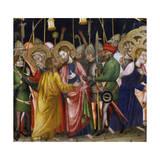 Judas' Kiss, by the Master of Rubio Giclee Print