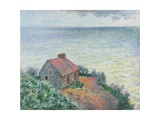 Customs Post at Dieppe, 1882 Giclee Print by Claude Monet