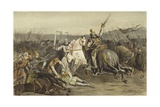 Battle of Worringen, 5 June 1288 Giclee Print by Willem II Steelink