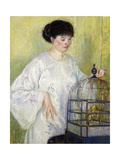 Portrait of Madame Frieseke, C.1912-1913 Giclee Print by Frederick Carl Frieseke