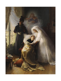 The Visit Giclee Print by Julius Leblanc Stewart