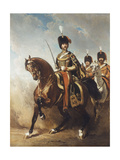 A Portrait of General Fleury on Horseback Giclee Print by Alfred Dedreux
