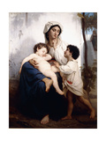 Sleep, 1864 Giclee Print by William Adolphe Bouguereau