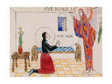 Annunciation, C.1912 Giclee Print by Eric Gill
