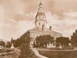 The State House, Annapolis Photographic Print