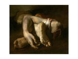 Study of Feet and Hands, C.1818-19 Giclee Print by Théodore Géricault