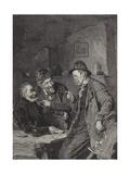 I Don't Call That Play Giclee Print by Eduard Grutzner
