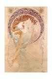 La Poesie Giclee Print by Alphonse Mucha