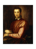 Portrait of Francesco I D'Medici Giclee Print by Alessandro Allori