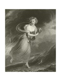 Psyche, Returning from the Realms of Pluto Giclee Print by Sir William Beechey
