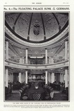 Dining Saloon of the Cunard Liner Lusitania Photographic Print