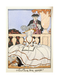 The Lesson Well Learned, 1919 Giclee Print by Georges Barbier