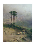 In the Crimean Mountains, 1873 Giclee Print by Fedor Aleksandrovich Vasiliev