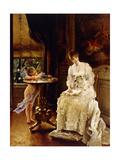 Love's Messenger Giclee Print by Alfred Emile Stevens