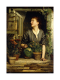 Morning Glories, 1874 Giclee Print by Emile Levy