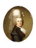 Portrait of Queen Marie Antoinette, 1793 Giclee Print by Adolf Ulrich Wertmuller