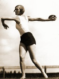 Discus Thrower at the Berlin Olympic Games, 1936 Photographic Print
