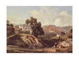 Campania Region Landscape Giclee Print by Giacinto Gigante