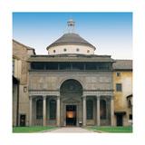 Pazzi Chapel in Florence, 1430 - 1444 Giclée-tryk af Filippo Brunelleschi
