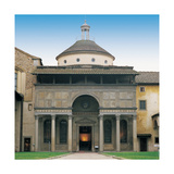Pazzi Chapel in Florence, 1430 - 1444 Giclee Print by Filippo Brunelleschi