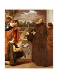 Saint Francis of Paola Blessing the Fish Giclee Print by Jusepe Or Jose Leonardo