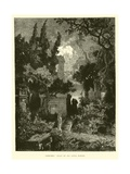 Cemetery, Feast of All Souls, Naples Giclee Print