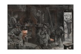Western Front, Kitchen Giclee Print by Felix Schwormstadt