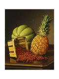 Tabletop Still Life with Fruit Giclee Print by Levi Wells Prentice