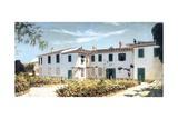 Florentine Villa, 1874 Reproduction procédé giclée par Telemaco Signorini