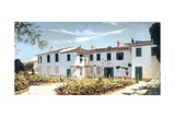 Florentine Villa, 1874 Giclee Print by Telemaco Signorini