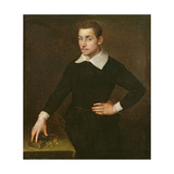 Portrait of a Young Florentine Goldsmith Giclee Print by Agnolo Bronzino