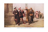 Shylocks Answer Giclee Print by Sir John Gilbert