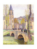 The Mass Hour at Bastide Du Vert, C.1920 Giclee Print by Henri Martin