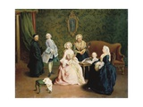 Family Concert Giclee Print by Pietro Longhi