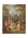 Russian Concert, 1770 Giclee Print by Jean Baptiste Leprince