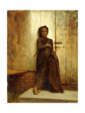 The Chimney Sweep, 1863 Giclee Print by Eastman Johnson