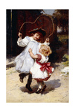 Skipping, C.1896 Giclee Print by Frederick Morgan