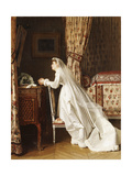 The Bride Giclee Print by Charles Baugniet