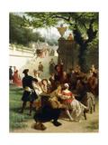 Fete Champetre, 1878 Giclee Print by Emile Antoine Bayard