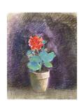 Geranium Giclee Print by Odilon Redon
