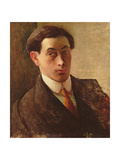 Self Portrait Giclee Print by Isaac Rosenberg