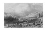 The City of Thyatira, Asia Minor Giclee Print by Thomas Allom
