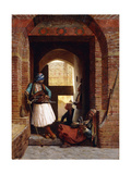 Arnaut Bodyguards in Cairo, 1861 Giclee Print by Jean Leon Gerome